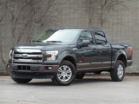 test drive 2015 ford f 150 lariat 2 7l ecoboost the
