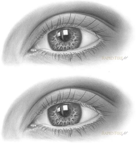 Drawing Eyelashes by How To Draw Eyelashes Rapidfireart