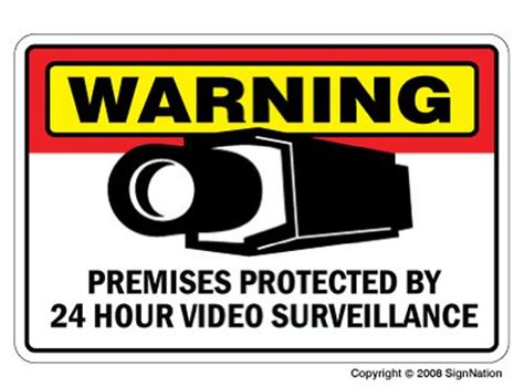 security signs protect your home on a budget infobarrel