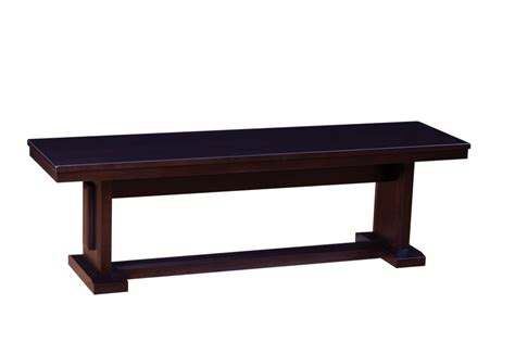 48 dining bench woodworks newport dining bench 48 quot and 60 quot furniture