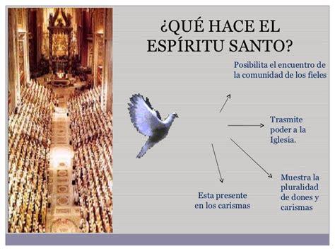 el colapso de la el espiritu santo y la iglesia
