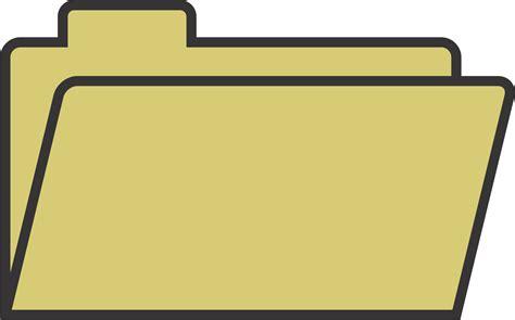 Clipart   File Folder