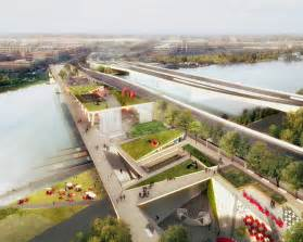 home design show washington dc oma olin to bridge washington dc with city s first elevated park