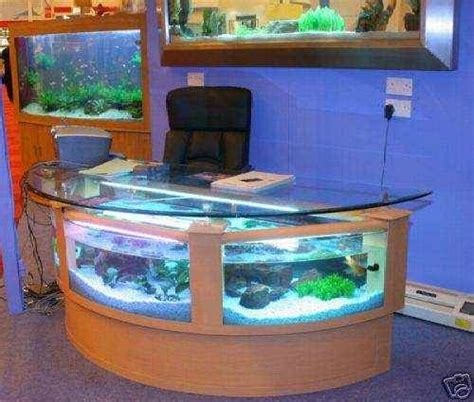 Fish Tank Reception Desk Receptionist Desk Fish Tank Aquariums