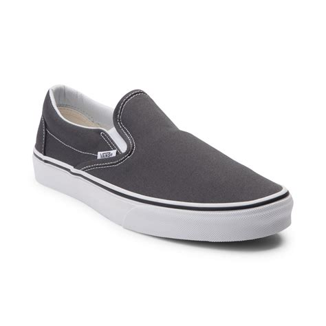 vans slip on skate shoe gray 498949