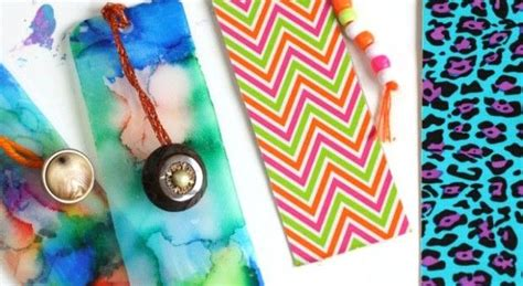 Easy Handmade Bookmarks - bookmarks easy gifts can make
