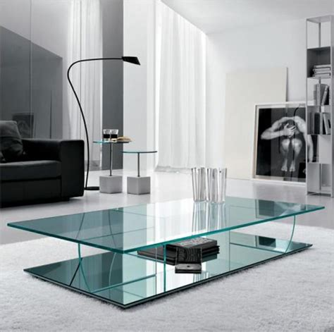 modern glass coffee table contemporary glass coffee tables adding more style into