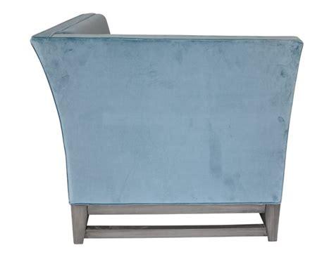 Blue Velvet Chaise Lounge by Blue Velvet Chaise Lounge The Local Vault