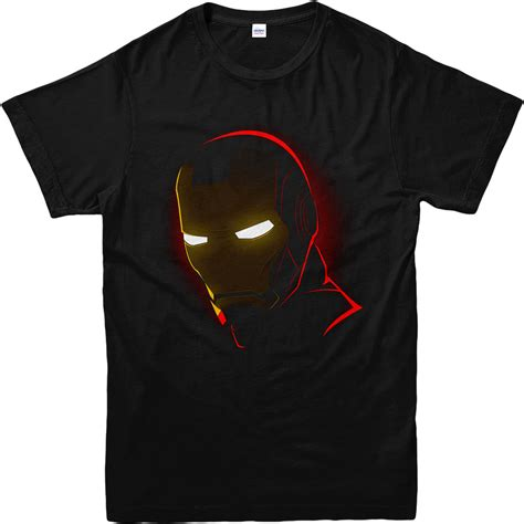Kaos Ironman Disain Ironman 11 iron t shirt iron mask t shirt inspired design