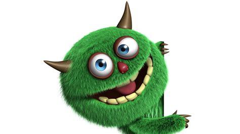 cute monster hd wallpaper hd hintergrundbilder monster gr 252 n lustig flaumig licht