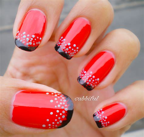 Red and black nail art designs memes