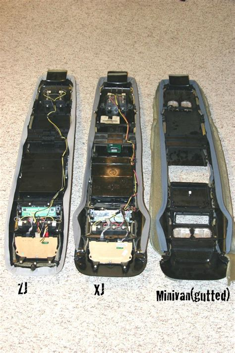 jeep custom console installing a zj xj overhead console naxja forums