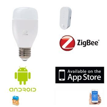 zigbee home automation products system bulb