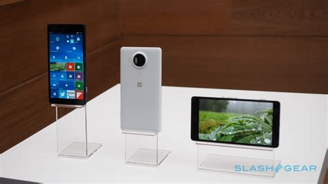 Microsoft Device microsoft lumia 950 xl and 950 on slashgear