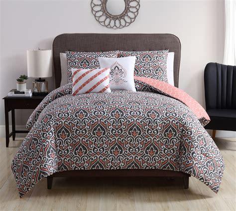 victoria classics corliss 5 piece reversible comforter set