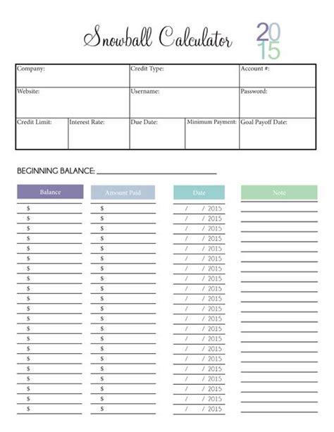 Debt Snowball Worksheet by 25 Unique Debt Snowball Calculator Ideas On
