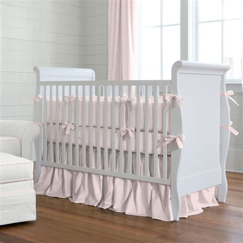 How To Make Crib Bedding Pink Baby Bedding Pink Baby Crib Bedding Carousel Designs