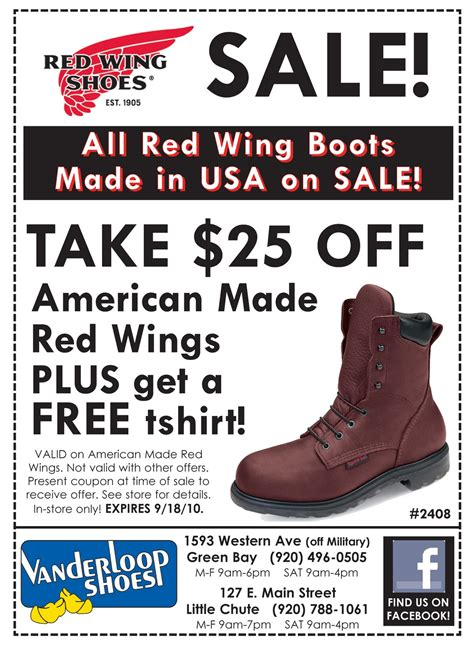 work boots coupon wing coupons