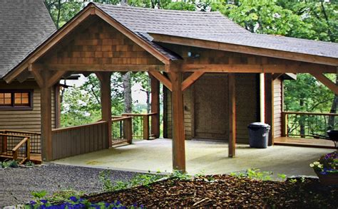 Carport And Shed by Carport With Storage Shed Plans 187 Woodworktips