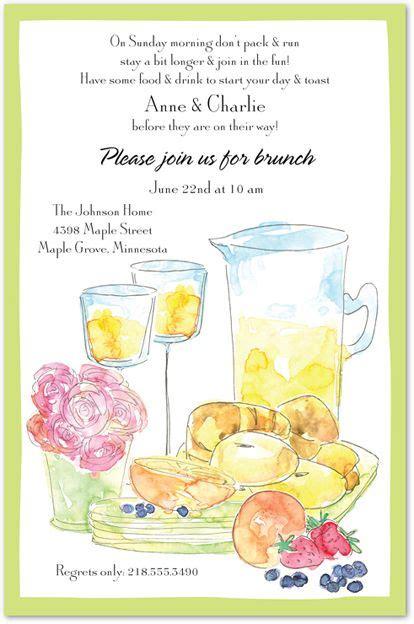Wedding Brunch Invitations Day After Brunch Invitation Inspiration Pinterest Watercolors Birthday Brunch Invitation Template