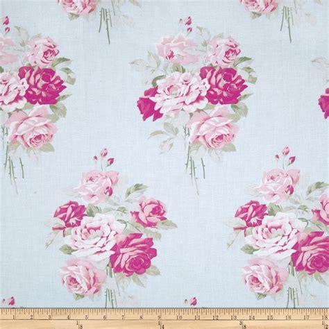 whelan slipper roses whelan slipper roses blue discount designer fabric