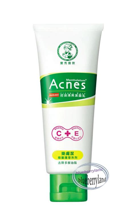 Acnes Wash mentholatum acnes medicated wash 100g health