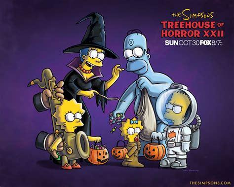 imagenes de halloween simpson im 225 genes coloridas de los simpsons en halloween banco de
