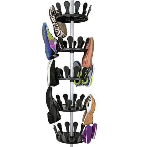 shoe tree storage shoe storage carousel shoe tree rack stand shoes organizer