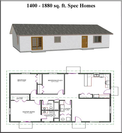 spec house plans ez house plans