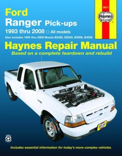 car repair manuals online pdf 1993 ford club wagon instrument cluster ford ranger pick ups 1993 thru 2008 haynes repair manual pdfsr com