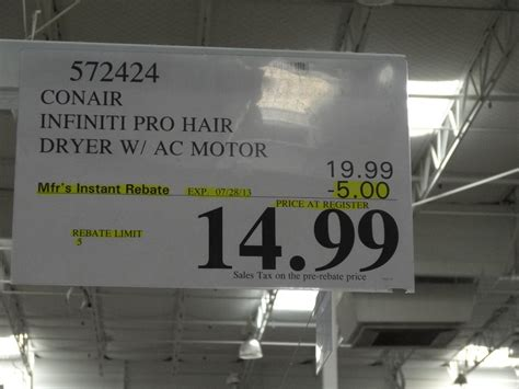 Babyliss Hair Dryer Costco conair infinity pro hair dryer