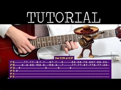youtube tutorial de guitarra c 243 mo tocar la canci 243 n del mariachi desperado tutorial