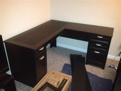 corner small l shaped desk small l shaped desk of space