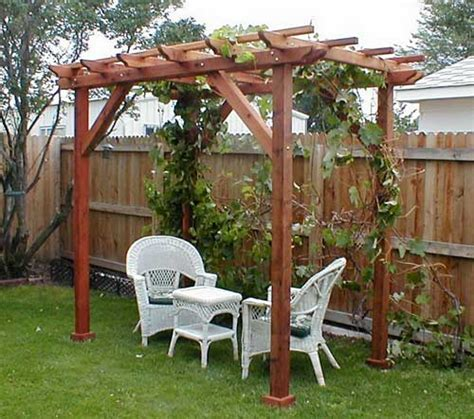 pergola bountiful backyard