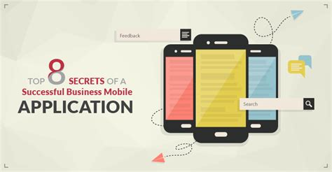 business mobile applications top 8 secrets of a successful business mobile application