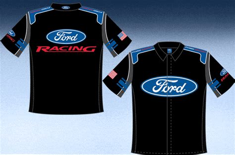 ford racing adult pit crew shirt