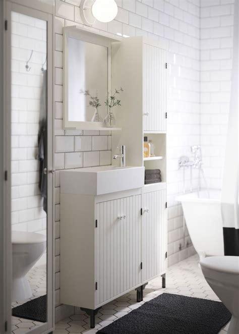 Good Small Bath Vanity A White Bathroom With Narrow Wash Basin Cabinet High