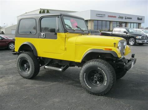 Cj7 Jeep For Sale Used Jeep Cj 7 For Sale Carsforsale