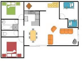 simple house floor plan cool plans with open descriptions