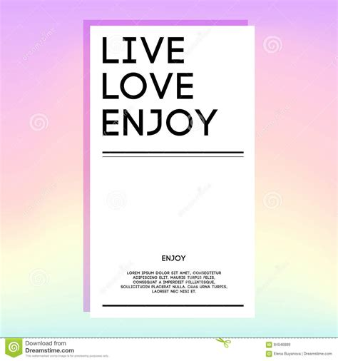 live card template holographic design template for banner cover flyer