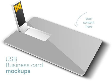 drive business card templates free usb business card mockups on behance