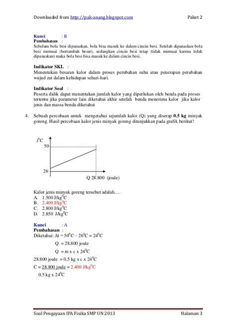 Ipa Fisika Smp Kelas 3 contoh soal fisika besaran dan vektor contoh 37