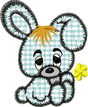 free machine embroidery downloads free bunny applique embroidery design instant