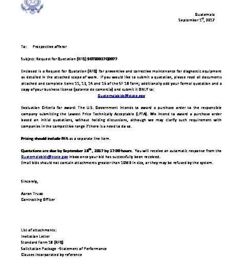 invitation letter  embassy  guatemala