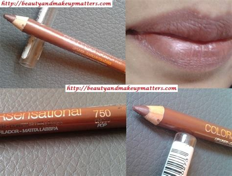 Lip Liner Maybelline maybelline color sensational lip liner choco pop review