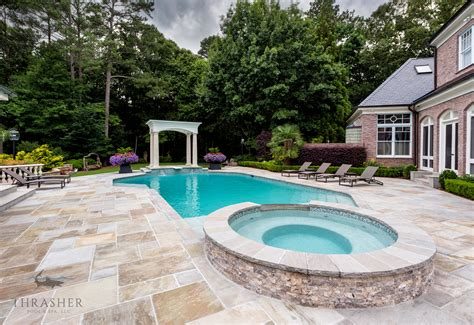 pool companies in atlanta luxury pool spa and cabana atlanta pool builder