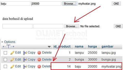 tutorial upload gambar codeigniter cara upload gambar menggunakan codeigniter dan mysql part