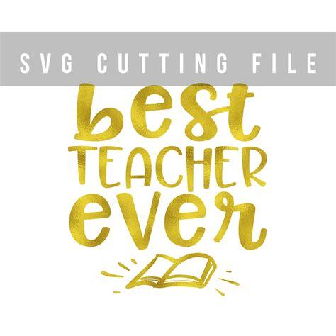Fashion Resume Example by Best Teacher Ever Svg Png Eps Teacher S Design Bundles