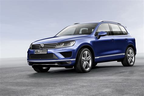 volkswagen new 2015 volkswagen touareg facelift brings new features