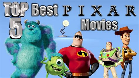 best pixar top 5 best pixar